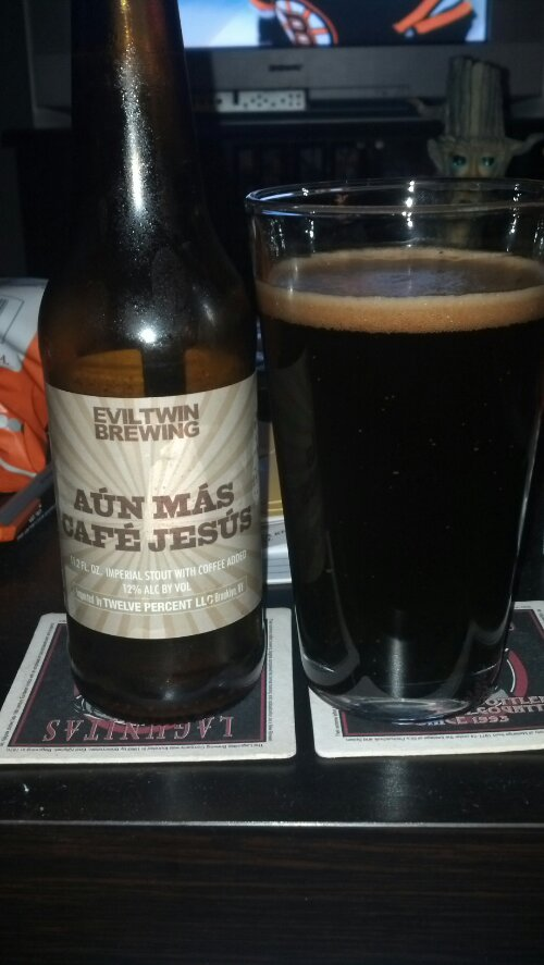 New Beer Blog Evil Twin Brewing Aun Mas Cafe Jesus