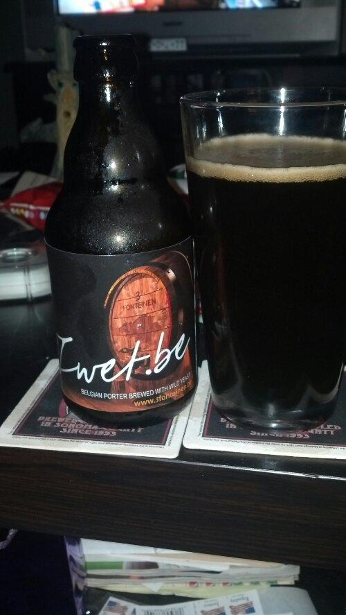 New Beer Blog 3 Fonteinen Zwet.be Belgian Porter