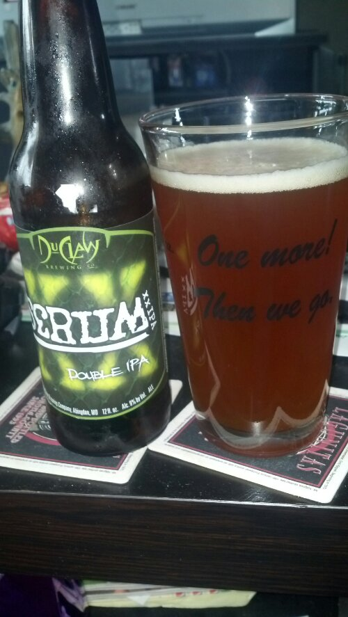 New Beer Blog DuClaw Brewing Serum Double IPA