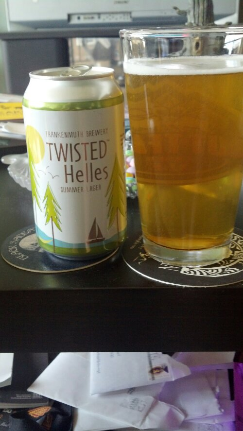 New Beer Blog Frankenmuth Brewery Twisted Helles Summer Lager